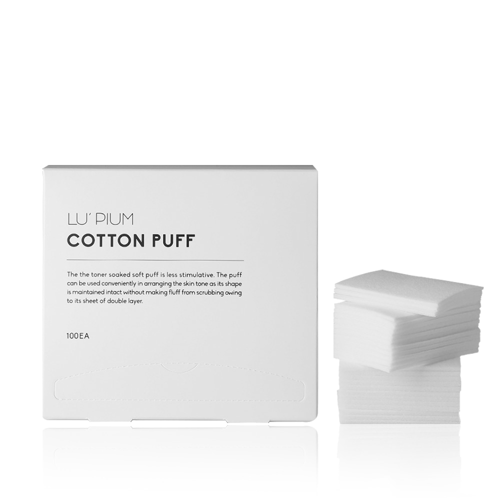 Cotton puff | 2 Layers sheet  코튼 퍼프