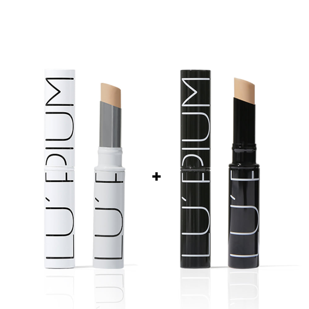 [1+1] Creamy natural cover concealer (2color)  크리미 네츄럴 커버 컨실러