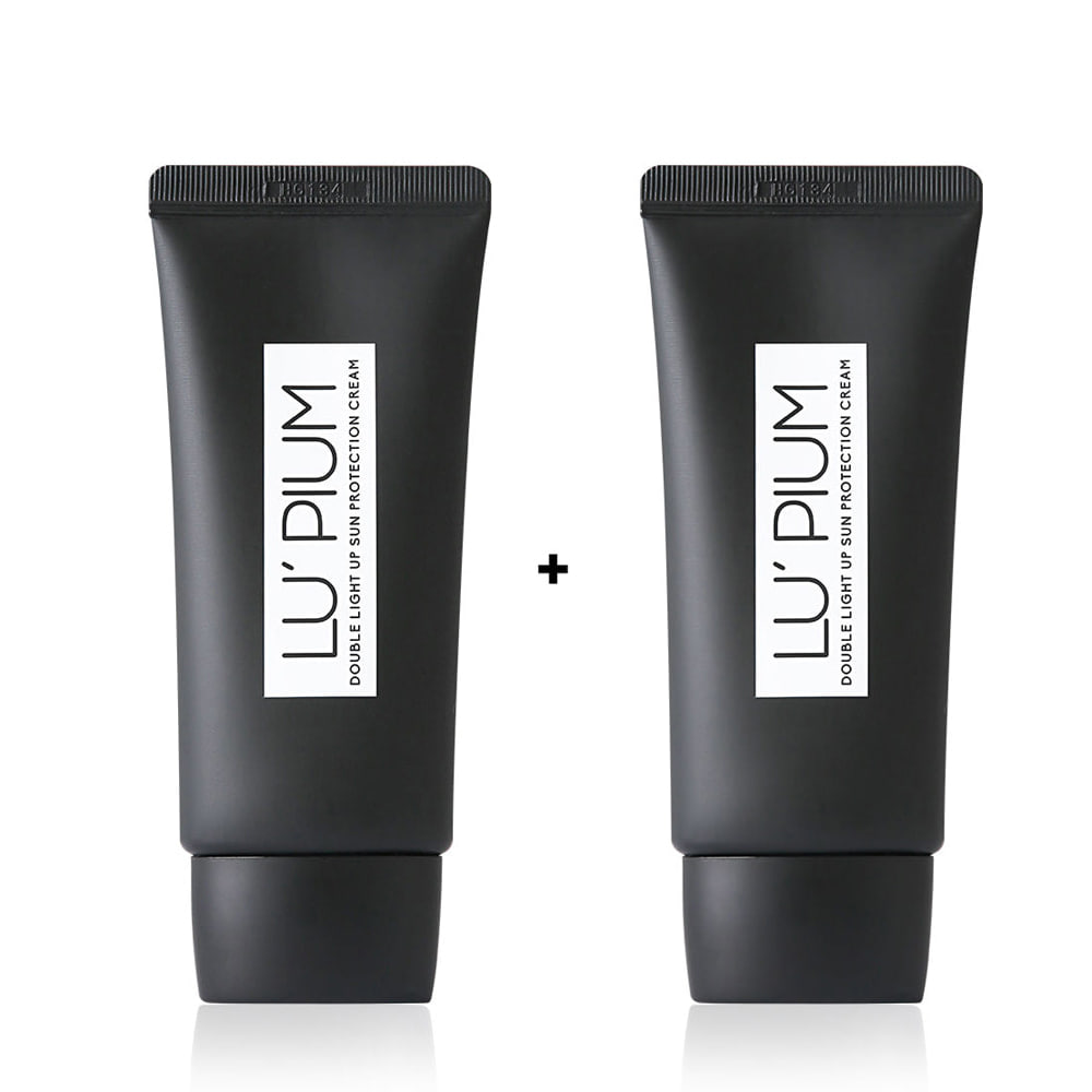 [1+1] Double light up sun protection cream +Double light up sun protection cream더블 라이트 업 선 프로텍션 크림 + 더블 라이트 업 선 프로텍션 크림